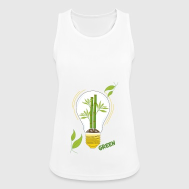 green light bulb - Women's Breathable Tank Top