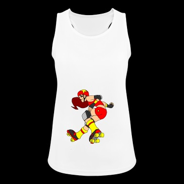 derby girl - Women's Breathable Tank Top