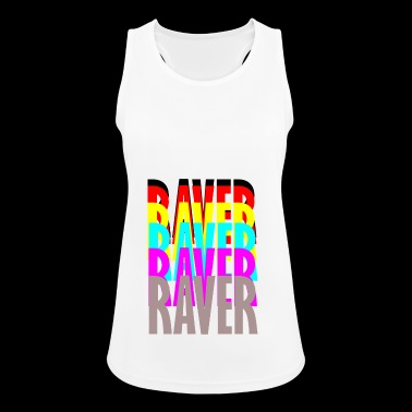 raver raver raver raver - Women's Breathable Tank Top