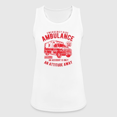 Ambulance Vehicle - Women's Breathable Tank Top