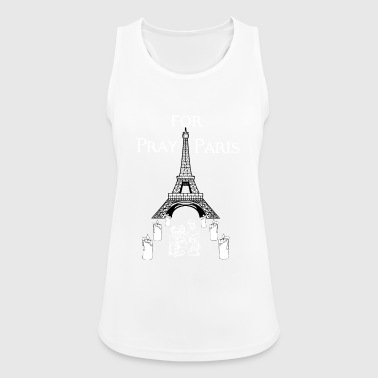 Pray for Paris - Women's Breathable Tank Top