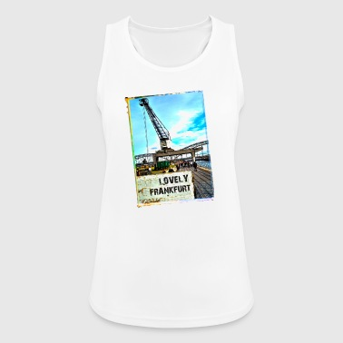 Lovely Frankfurt - Women's Breathable Tank Top