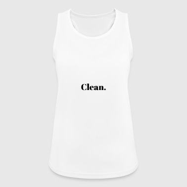 Clean. - Women's Breathable Tank Top