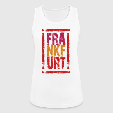 Frankfurt, stamp - Women's Breathable Tank Top