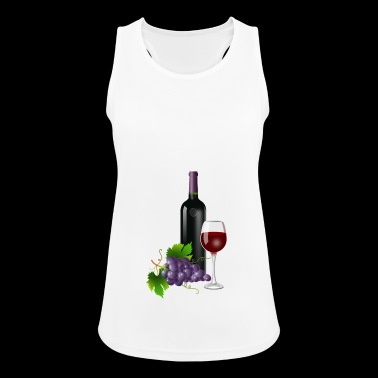 Red Wine for Wine Friends GIFT - Women's Breathable Tank Top