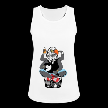 Rapper Adlerkopf Ghettoblaster old school Hip Hop - Frauen Tank Top atmungsaktiv