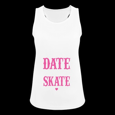 Date a skater - Women's Breathable Tank Top