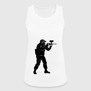 Paintball - Women's Breathable Tank Top