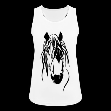horse - Women's Breathable Tank Top