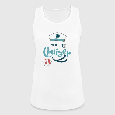 cruise - Pustende singlet for kvinner
