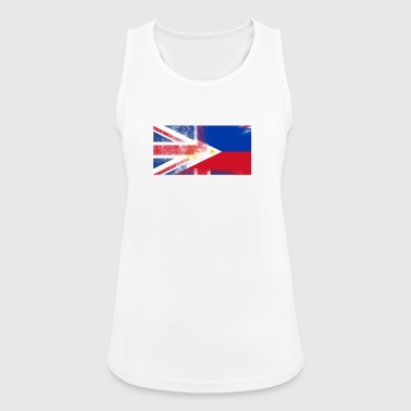 British Filipino Half Philippines Half UK Flag - Women's Breathable Tank Top