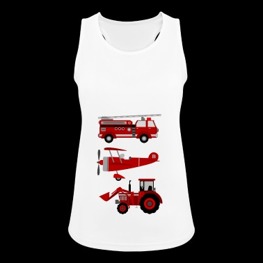 vehicles - Women's Breathable Tank Top