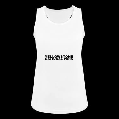 Yellowstone National Park Wilderness Recreation - Women's Breathable Tank Top