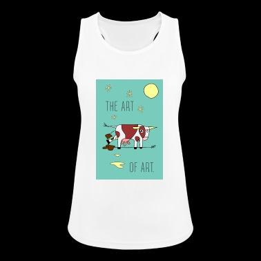 the ART OF ART - Women's Breathable Tank Top