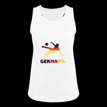 GERMANY SOCCER FOOTBALL TEAM - Women's Breathable Tank Top