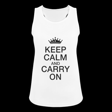 Keep calm - Women's Breathable Tank Top