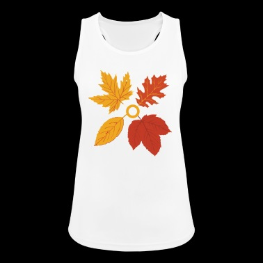 Autumn Autumn Leaves Leaves Gift - Women's Breathable Tank Top