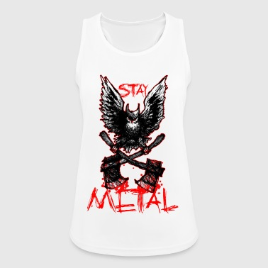 Metal Owl - Stay Metal - Pustende singlet for kvinner