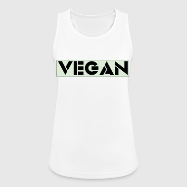 VEGAN IN BOLD - Women's Breathable Tank Top