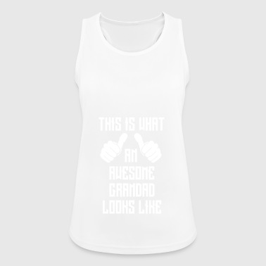 Awesome grandad - Women's Breathable Tank Top