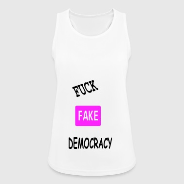 fake democracy - Women's Breathable Tank Top