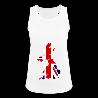 United Kingdom - Women's Breathable Tank Top