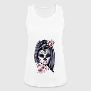 Scary woman - Women's Breathable Tank Top