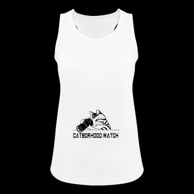 neighborhood cat - Women's Breathable Tank Top