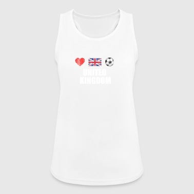 United Kingdom Football Shirt - United Kingdom Soc - Andningsaktiv tanktopp dam