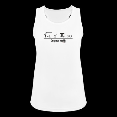 Mathematics - Women's Breathable Tank Top