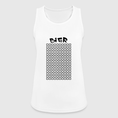 Beer beer beer beer beer beer - Women's Breathable Tank Top