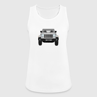 Jeep silver - Women's Breathable Tank Top