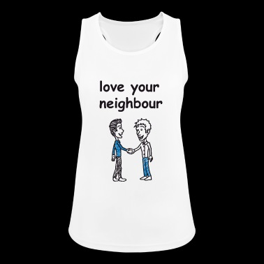 love your neighbor / charity - Women's Breathable Tank Top