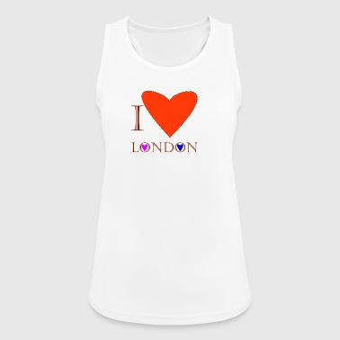 I Love London 1C - Women's Breathable Tank Top