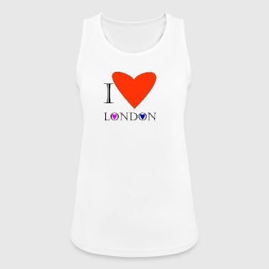 I Love London 1A - Women's Breathable Tank Top
