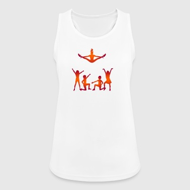 A Group Of Cheerleaders - Women's Breathable Tank Top