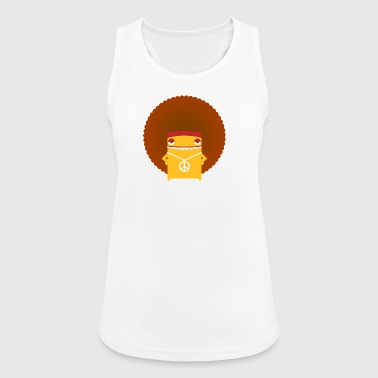 A Hippie With An Afro - Women's Breathable Tank Top