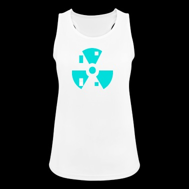 Radioactive atoms - Women's Breathable Tank Top