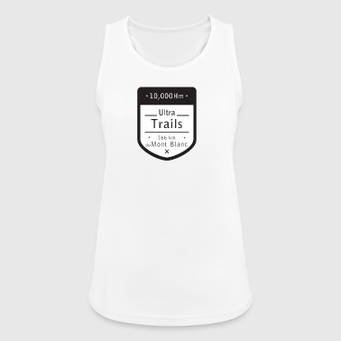 Ultra Trails mont blanc t shirt - Women's Breathable Tank Top