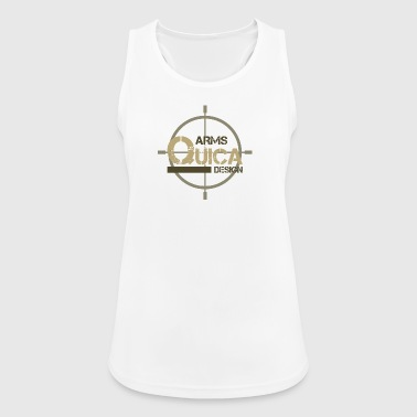 QUICA ARM LOGO - Frauen Tank Top atmungsaktiv