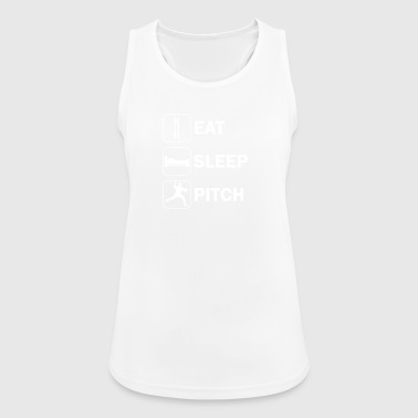 Eat sleep pitch - Women's Breathable Tank Top