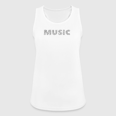 Music Sheet Music / Music Notes - Women's Breathable Tank Top