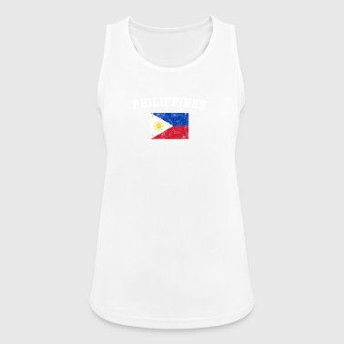 Filipino Flag Shirt - Vintage Philippines T-Shirt - Women's Breathable Tank Top