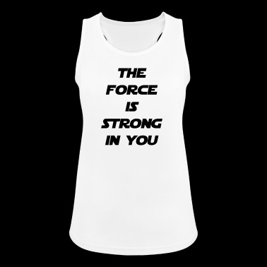 the force - Women's Breathable Tank Top