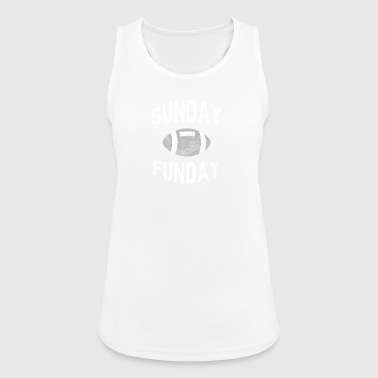 Sunday Funday - Football Sunday, Football gift - Women's Breathable Tank Top