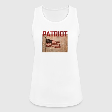 Patriot USA T-shirt - Dame tanktop åndbar