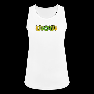 word - Women's Breathable Tank Top