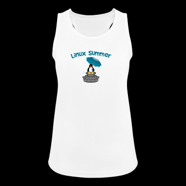 linux summer - Women's Breathable Tank Top