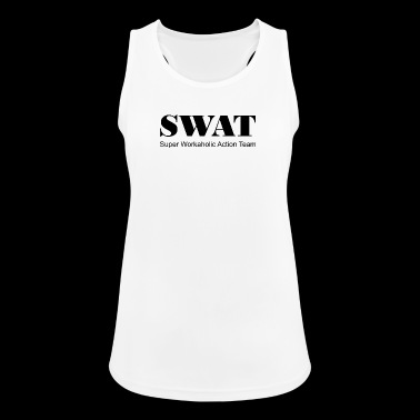 Swat Super workaholic Action Team - Women's Breathable Tank Top
