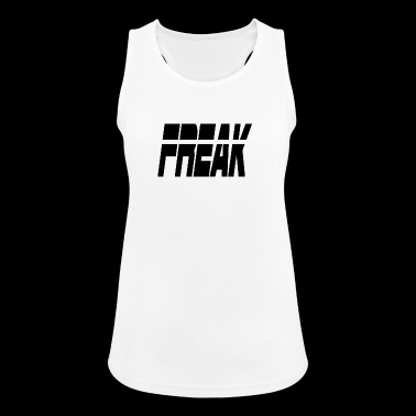 freak - Pustende singlet for kvinner